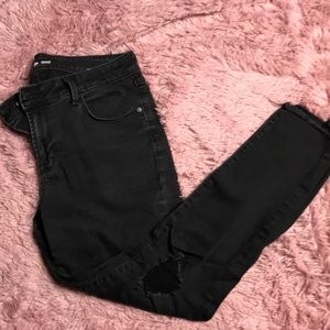 Distressed High Waisted Old Navy Jeans